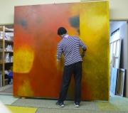Hans In Studio